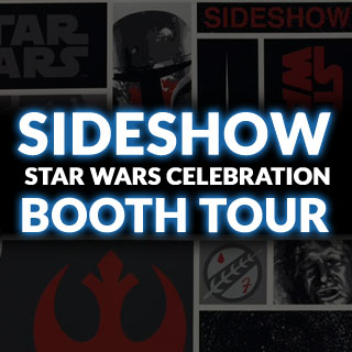 Sideshow Star Wars Celebration 2015 Booth Tour