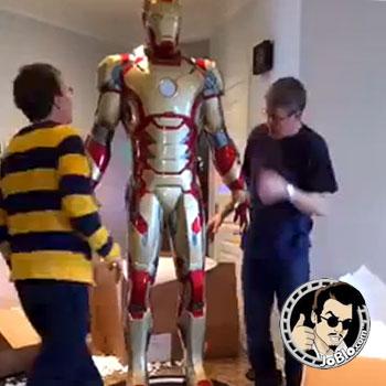 Iron Man Mark 42 Life-Size Figure assembled!