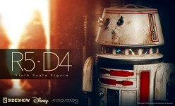 R5-D4 Sixth Scale Figure Preview