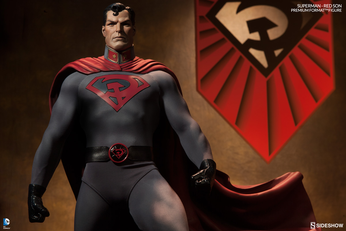 Citizens All Hail Our Comrade Of Steel Introducing The Superman Red Son Premium Format Figure Sideshow Collectibles