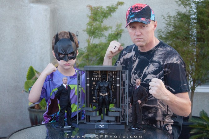 Richter Boys Review – Hot Toys Batman Armory with Bruce Wayne and Alfred Pennyworth