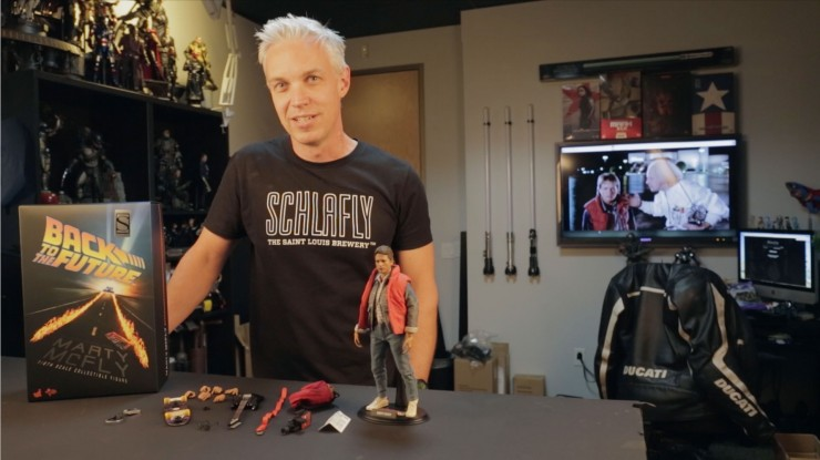 Great Scott! Watch as we unbox and pose the Hot Toys Marty McFly Sixth Scale Figure