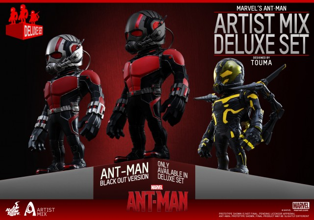 Ant-Man Artist Mix Figures from Hot Toys Available Now!
