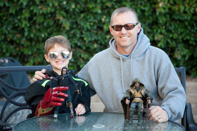Richter Boys Review –Hot Toys Tony Stark Mechanic and the Mandarin