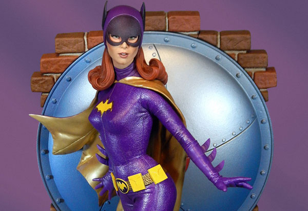 Tweeterhead debuts Batgirl Maquette from their Batman 1966 Signature Series