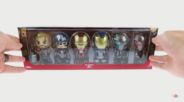 Optibotimus Review: Hot Toys Avengers Age of Ultron Cosbaby Set (Series 1)