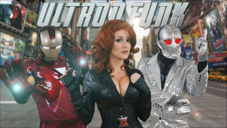 Avengers Assemble for an Uptown Funk Parody