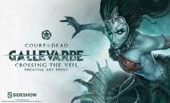 Gallevarbe: Crossing the Veil Premium Art Print