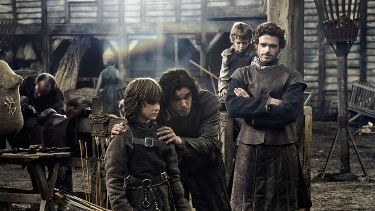 Game of Thrones Boys of House Stark, Men of the North