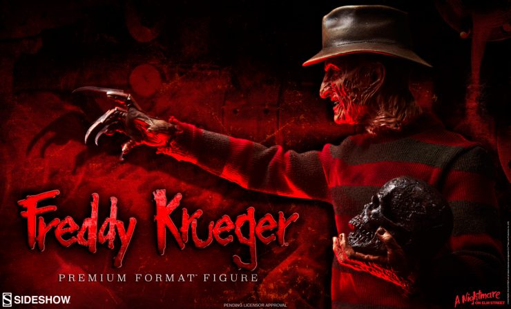 Freddy Krueger – Terror of Dreams Premium Format Figure Preview