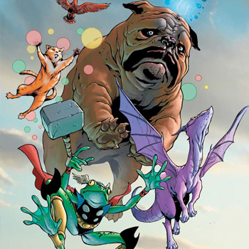 Thor Frog and the mighty Pet Avengers legacy
