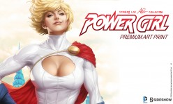 Power Girl Premium Art Print