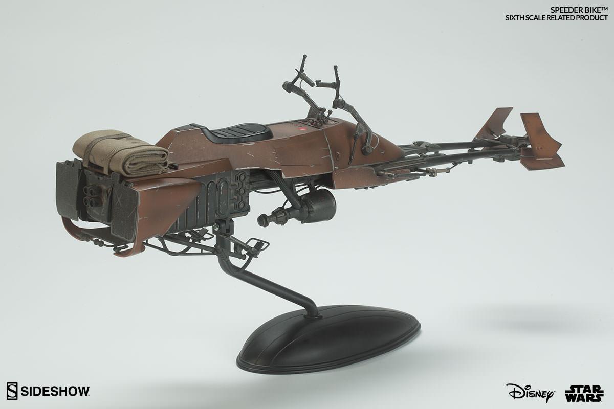 Star Wars Sixth Scale Speeder Bike Figure