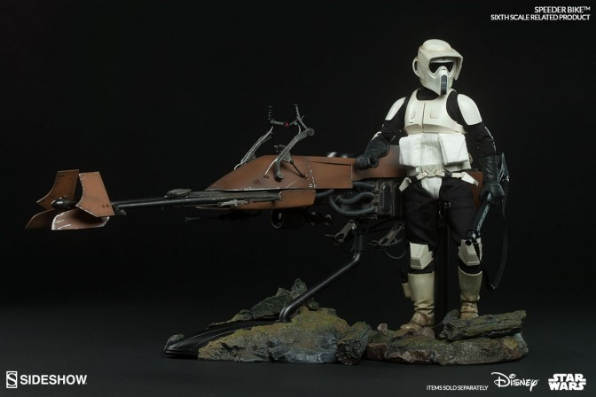 Sixth Scale Speeder Bike Final Production Gallery