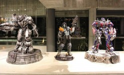Inside the ultimate collectors secret base – Lobo and Transformers