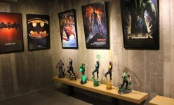 Inside the ultimate collectors secret base – Movie and comic themed room