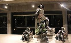 Inside the ultimate collectors secret base – Dr. Doom display