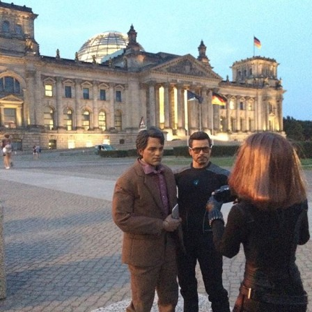 The Avengers take Berlin in these marvelous fan photos