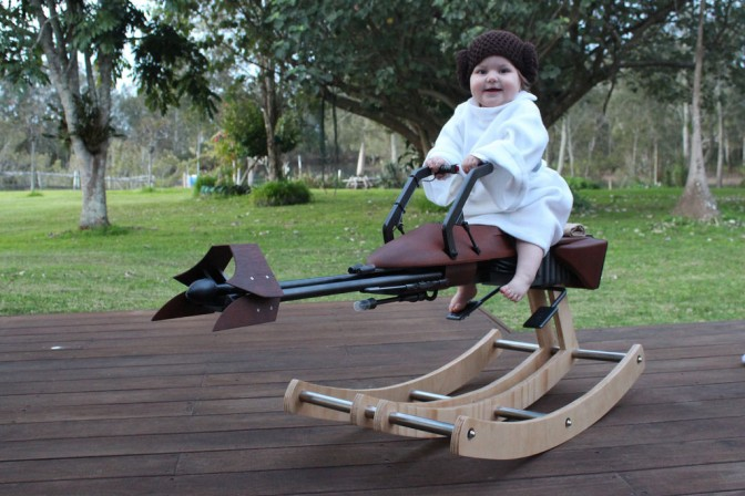 4 home made Star Wars vehicles that rock – literally