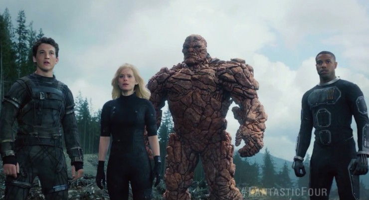 Deadpool gets a cameo in new Fantastic Four trailer