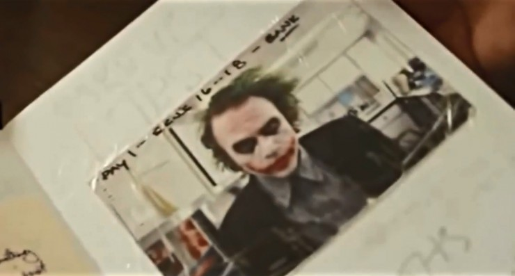 New documentary offers a glimpse inside Heath Ledger's Joker diary for The Dark Knight