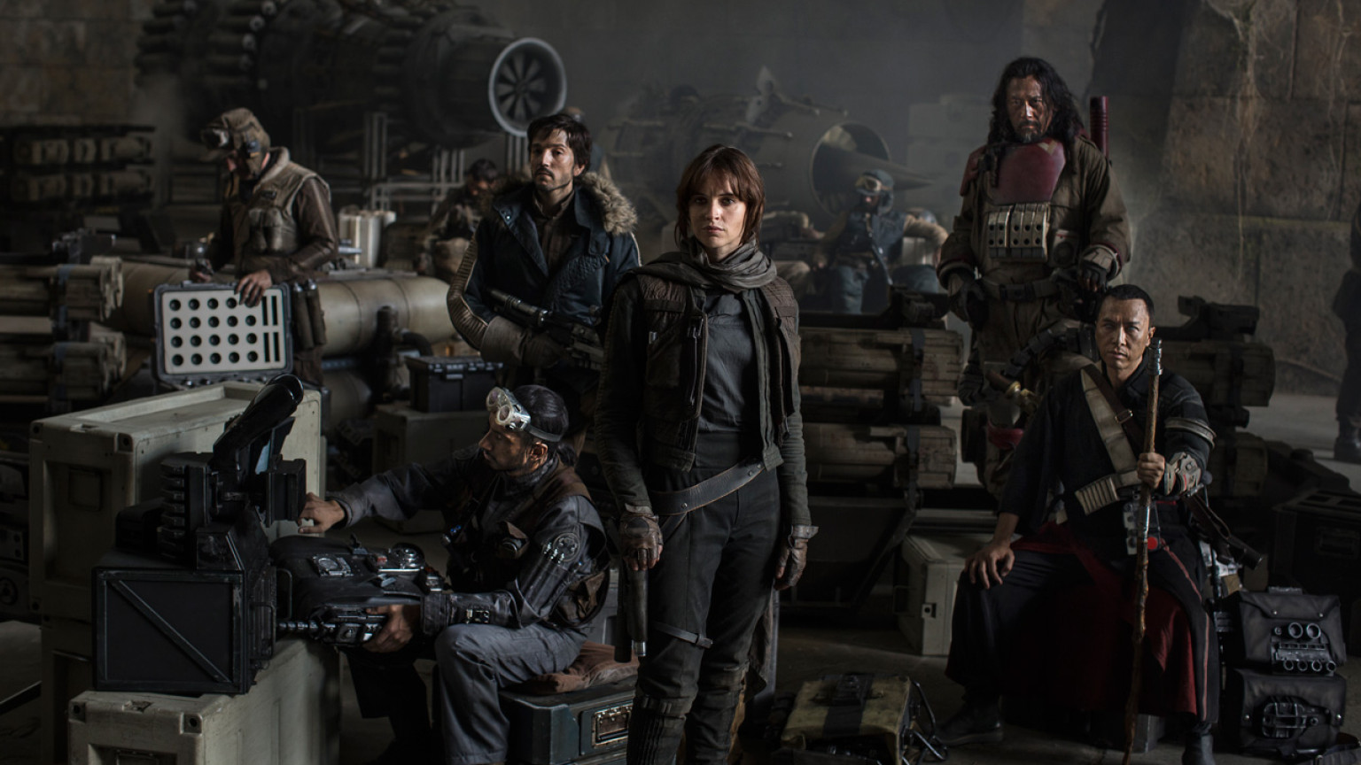 Star Wars Rogue One Cast and Crew