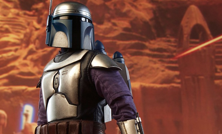 Jango Fett Sixth Scale Figure – Final Production Gallery