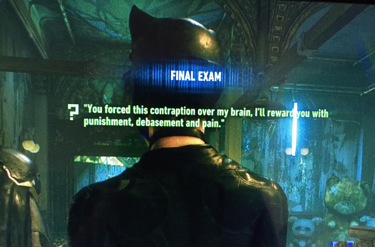 Batman arkham knight riddler challenge 4