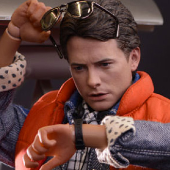 Back to the Future Hot Toys Collectibles