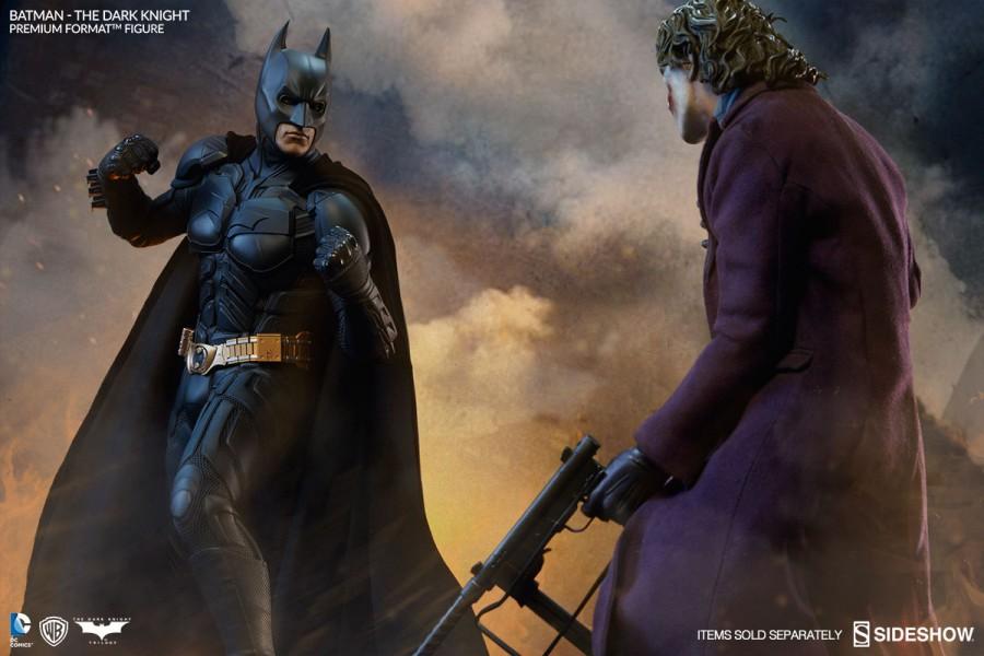 Batman and the Joker The Dark Knight Premium Format Figures