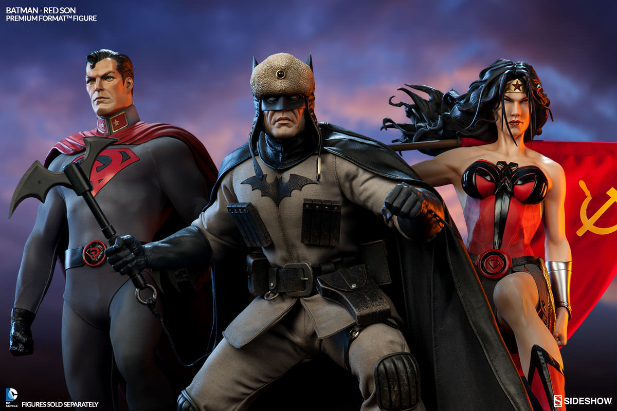 Superman Red Son Premium Format Figure Collection