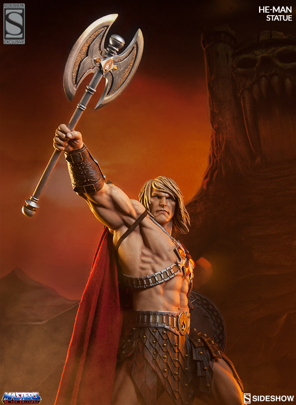 Exclusive He-Man Statue Masters of the Universe
