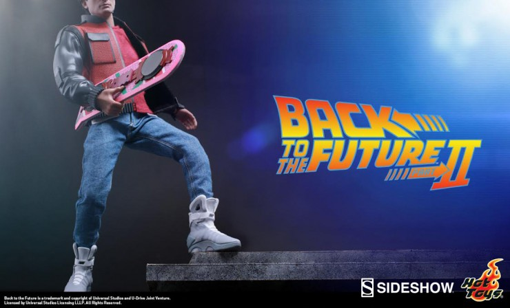 Woah, this is heavy! Hot Toys teases Marty McFly figure from Back to the Future 2