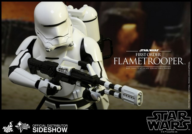 Hot Toys Flametrooper sixth scale collectible figure Star Wars The Force Awakens
