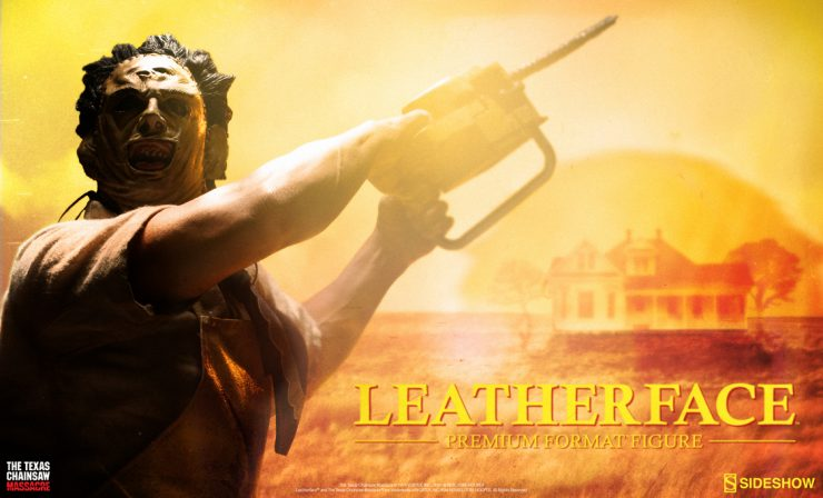 Leatherface Premium Format Figure Preview