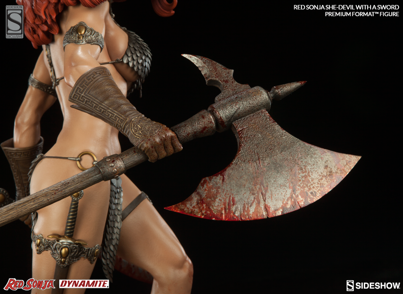 Exclusive Red Sonja She Devil with a Sword Premium Format Figure