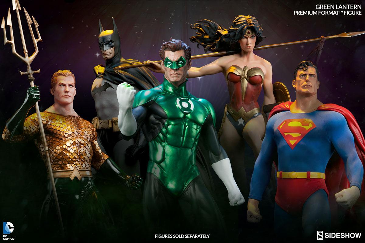 Justice League Premium Format Figure collection