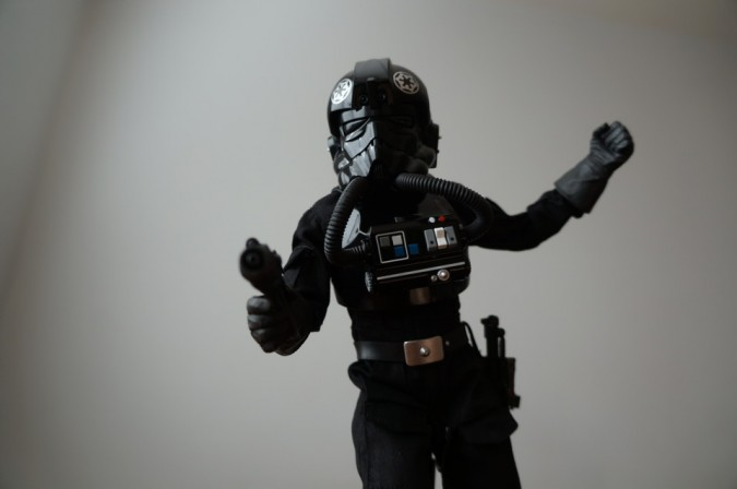 Imperial TIE Fighter Figure review Comic VIne