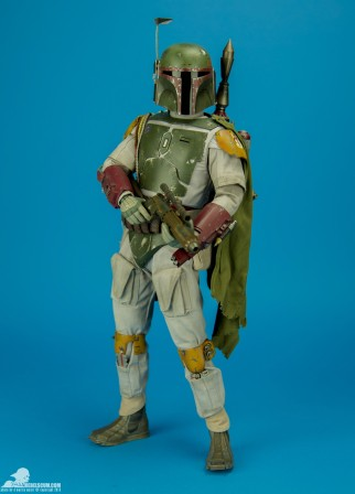 Bounty hunters, get your first look at the Hot Toys Quarter Scale Boba Fett from Rebelscum.com