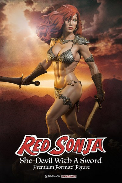 Make way for Red Sonja –the She Devil with a Sword!