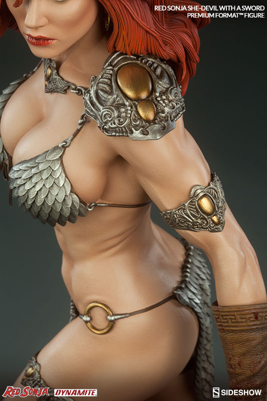 Red Sonja She Devil with a Sword Premium Format Figure