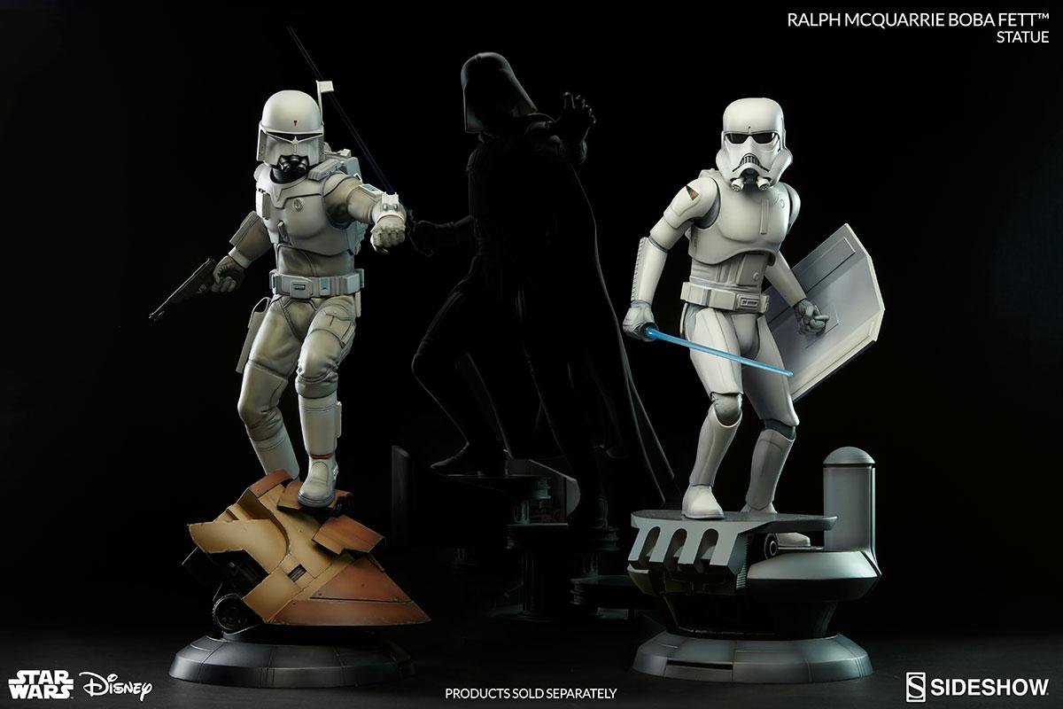 Star Wars Ralph McQuarrie Concept Artist Series Statue Collection