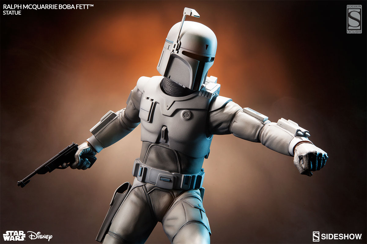 Star Wars Ralph McQuarrie Concept Artist Series Boba Fett Statue