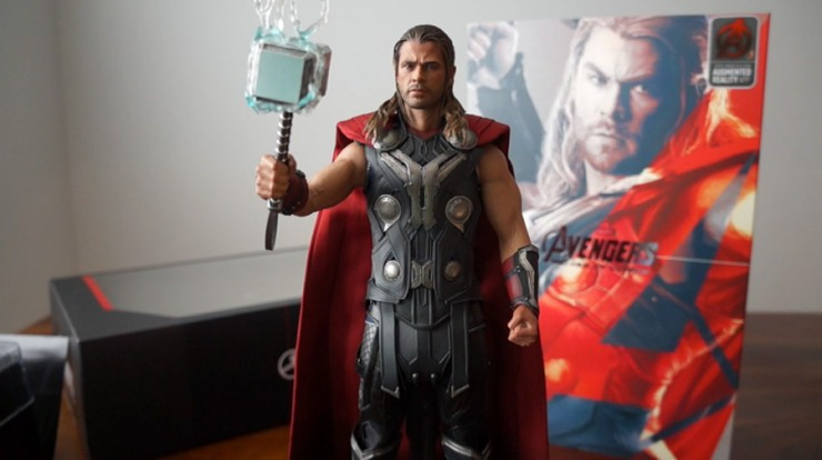 Comic Vine deems the Hot Toys Thor 'Avengers: Age of Ultron' Sixth Scale Figure worthy