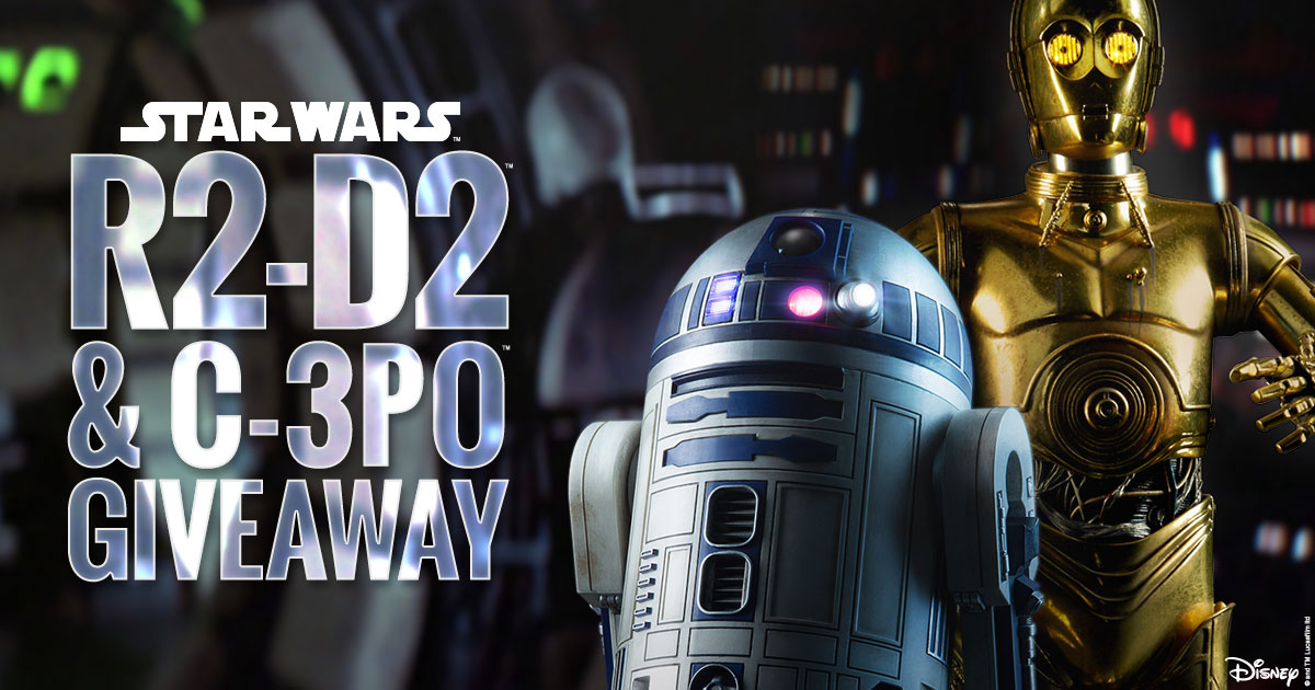 R2-D2 and C-3PO Premium Format Figures Giveaway!