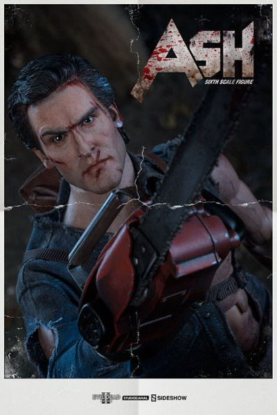 Rev up those chainsaws horror fans, for the Ash Williams Sixth Scale Figure from Evil Dead II: Dead by Dawn