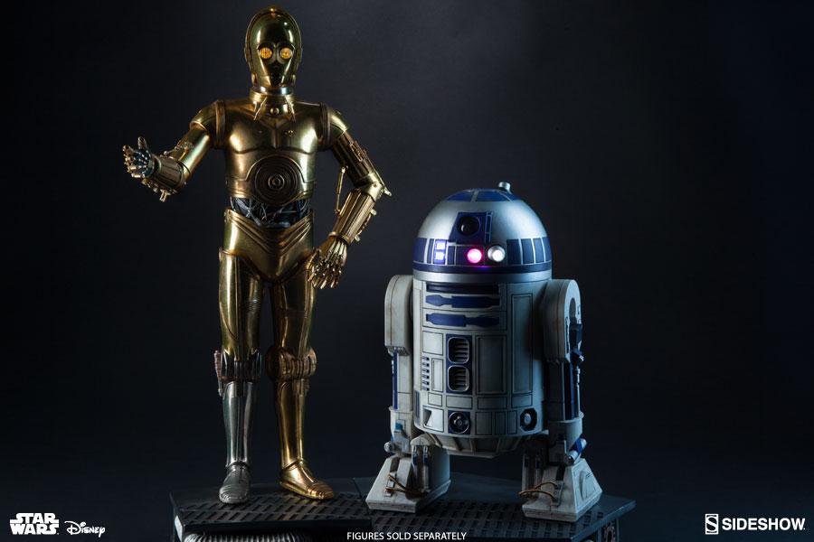 R2-D2 and C-3PO Premium Format Figure