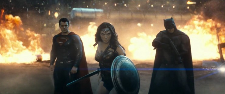 Son of Krypton vs. Bat of Gotham! The new trailer for Batman v Superman: Dawn of Justice is here!