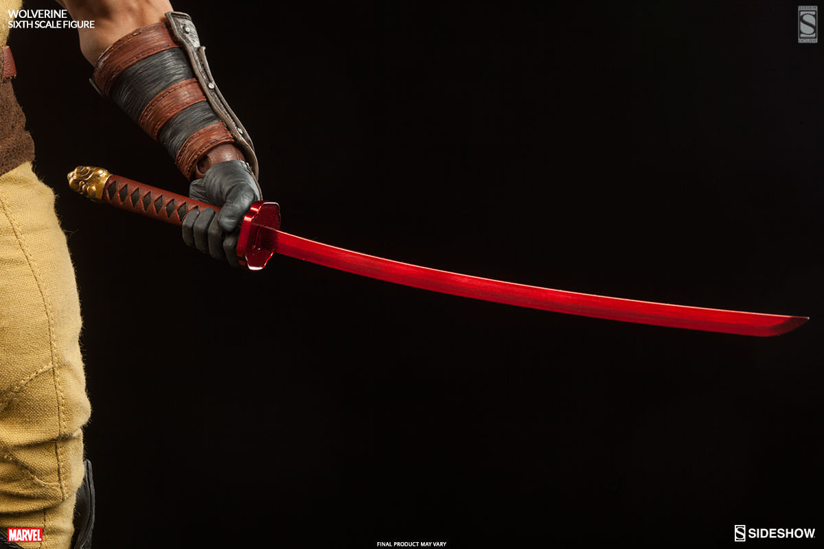 Exclusive Marvel Wolverine Sixth Scale Figure