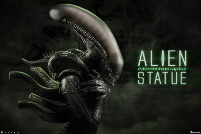 Sideshow presents the Alien 'Internecivus raptus' Statue–It's time for a bug hunt!